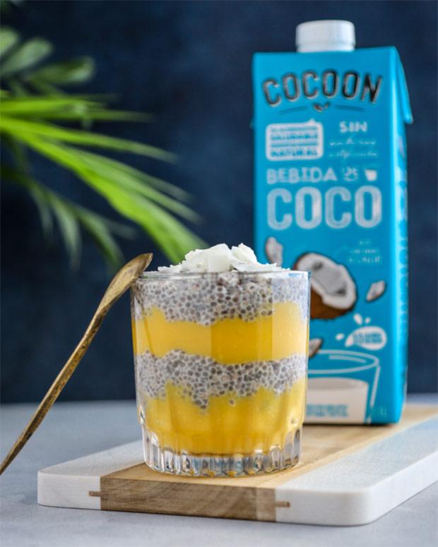 Chía Pudding de Coco y Mango - Cocoon
