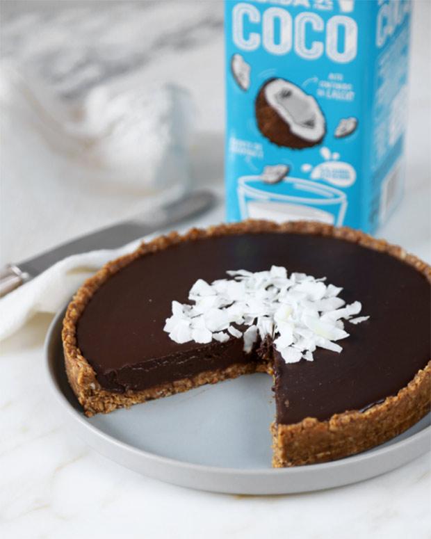 Tarta de coco y chocolate - Cocoon